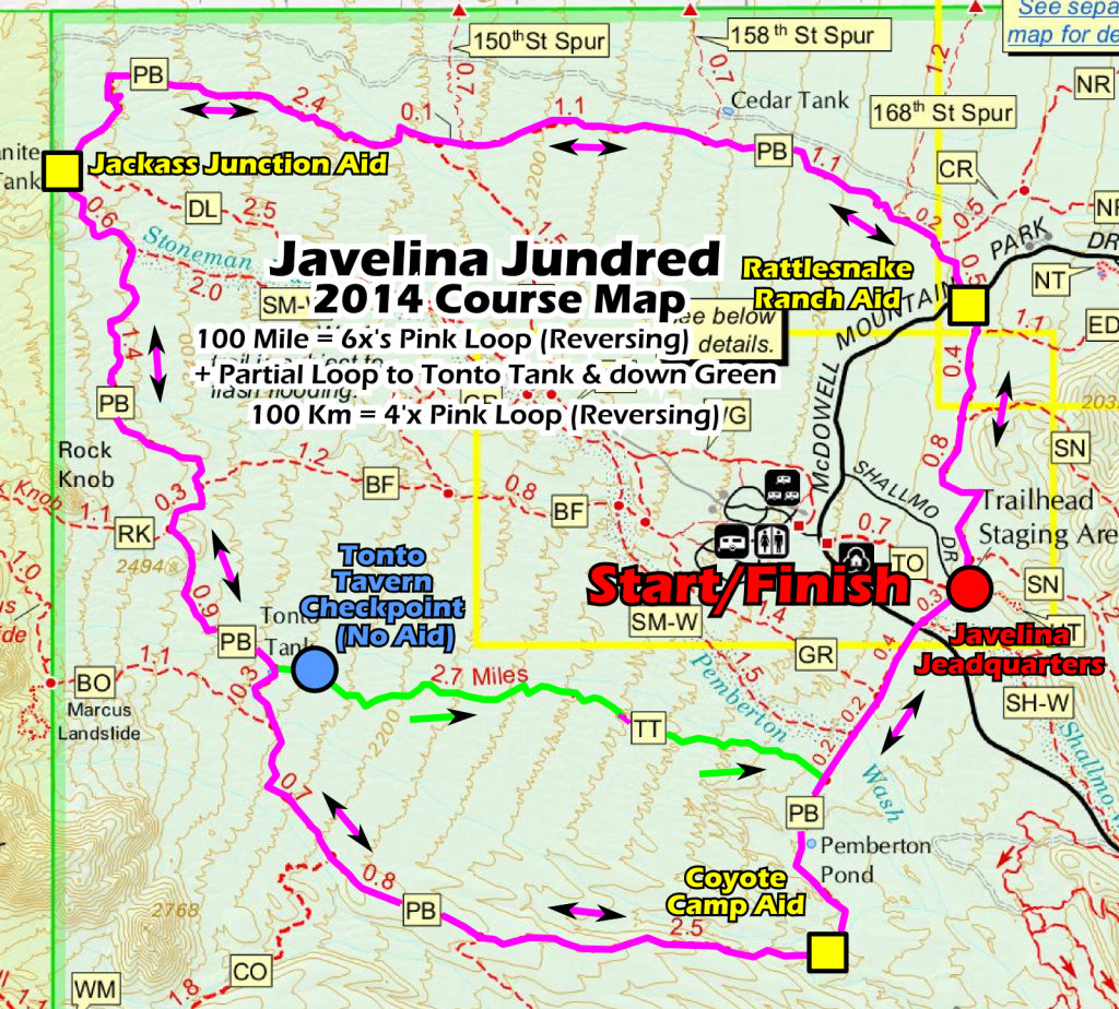 JJ course map