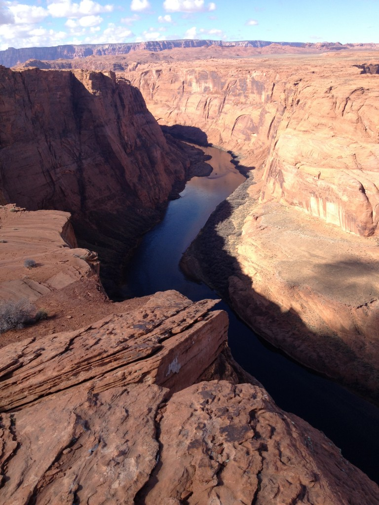 We got perspectives of Horseshoe Bend that few people experience because this side is on tribal land.